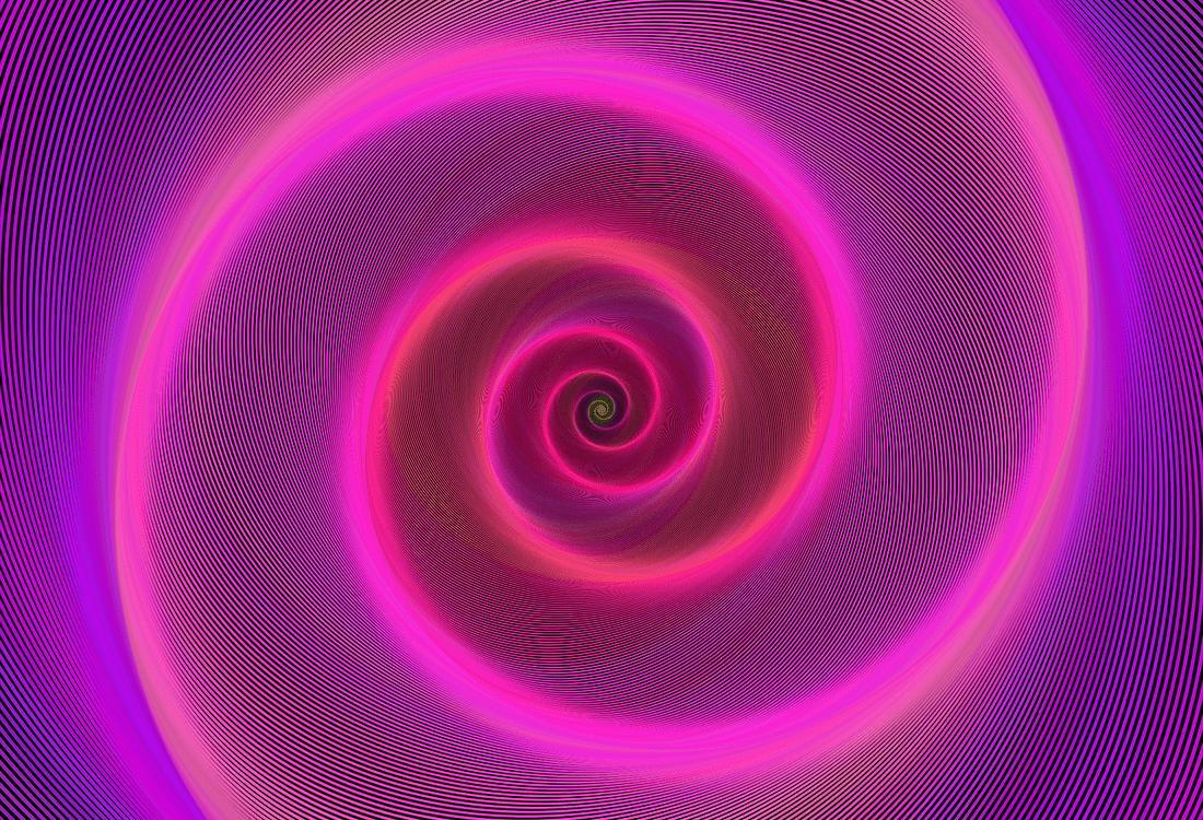 illustration spirale pour hypnose ericksonienne page offre soins en cabinet et à distance site stephanie legay thérapies énergétiques.
